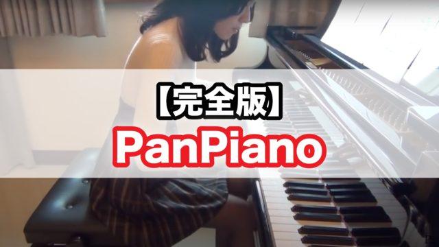 Pan piano 素顔