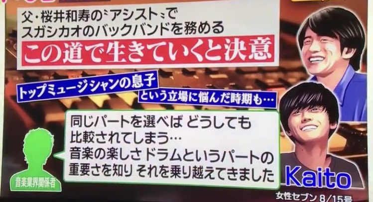 桜井海音(Kaito)の高校は慶應ではなく和光学園