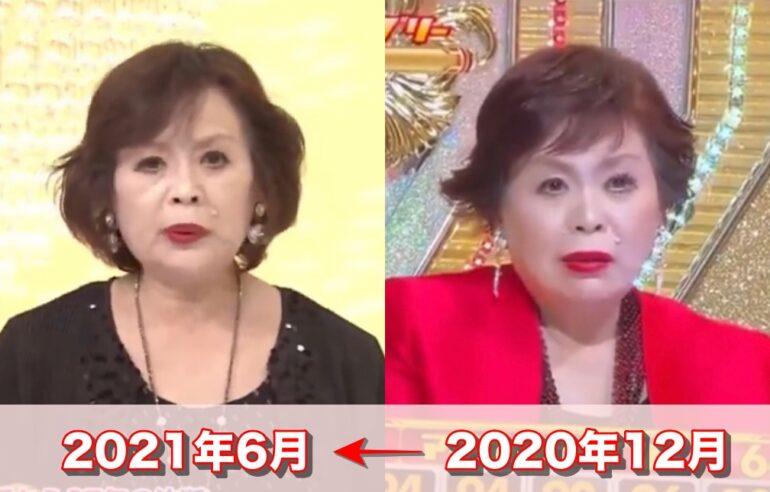 上沼恵美子が痩せた?