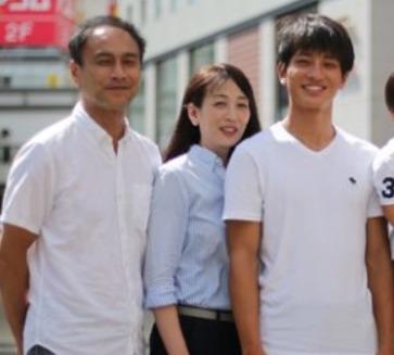 橋岡優輝の母と父