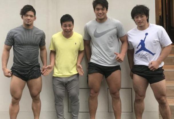 大野将平の筋肉