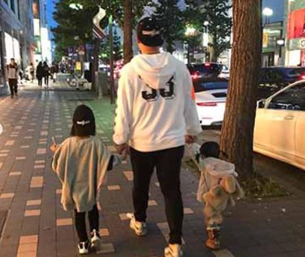 中田翔の子供